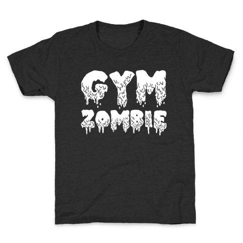 Gym Zombie Kids T-Shirt
