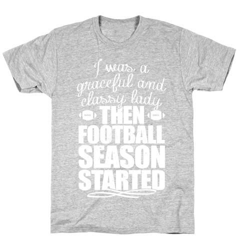 Football Lady T-Shirt
