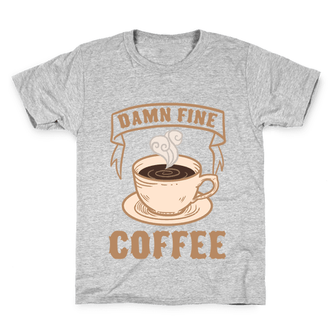 Damn Fine Coffee Kids T-Shirt