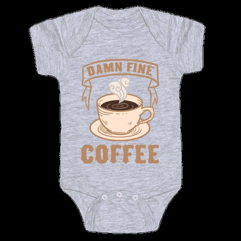 Damn Fine Coffee Baby Onesy