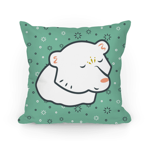 East of the Sun & West of the Moon Polar Bear Prince Pillow