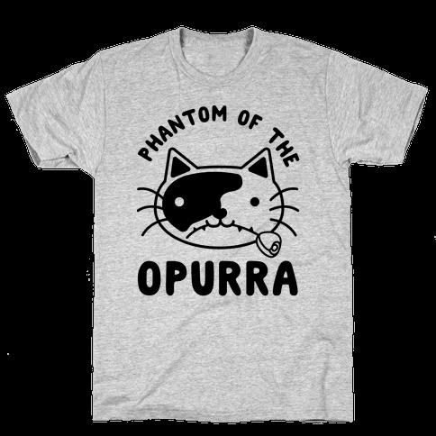 Phantom of the Opurra Mens T-Shirt