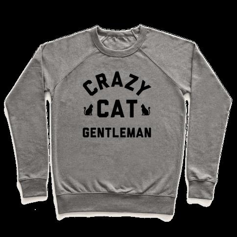 Crazy Cat Gentleman Pullover