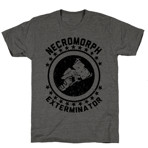 Necromorph Exterminator Mens T-Shirt