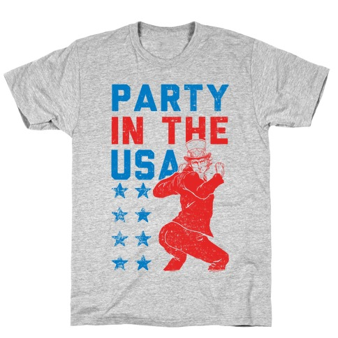 Party In The USA Uncle Sam T-Shirt