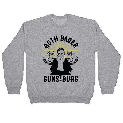 Ruth Bader Guns-Burg Pullover