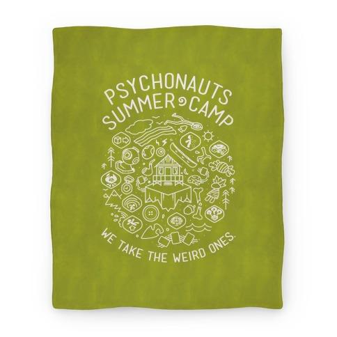 Psychonauts Summer Camp Blanket Blanket