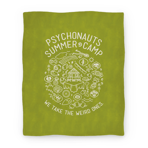 Psychonauts Summer Camp Blanket