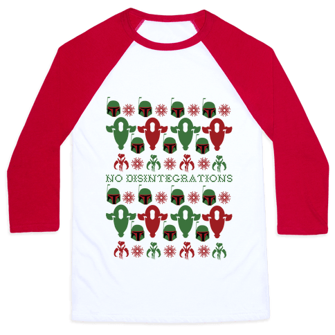 It's a Fett Christmas Baseball Tee
