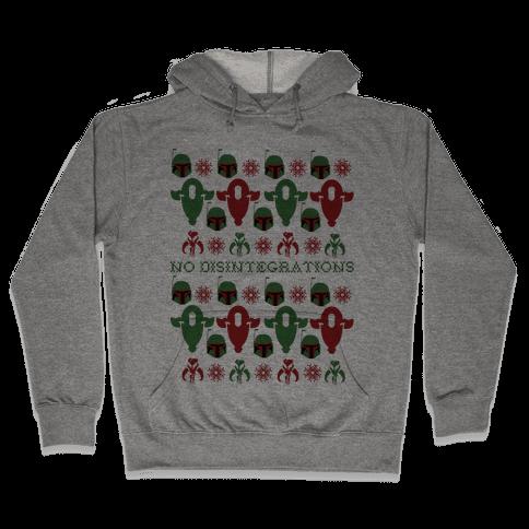 It's a Fett Christmas Hooded Sweatshirt