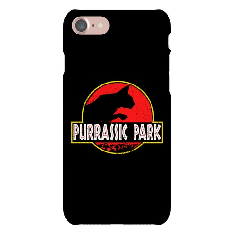 Purrassic Park Phone Case