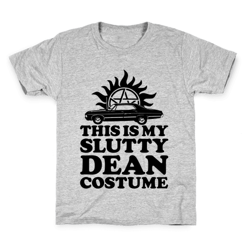 Slutty Dean Costume Kids T-Shirt