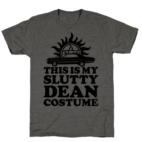 Slutty Dean Costume Mens T-Shirt