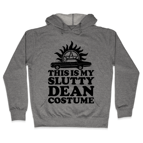 Slutty Dean Costume Hooded Sweatshirt