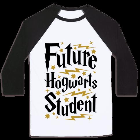 Future Hogwarts Student Baseball Tee