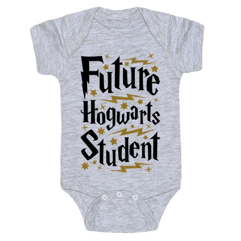 Future Hogwarts Student Baby Onesy