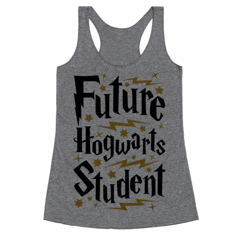 Future Hogwarts Student Racerback Tank Top
