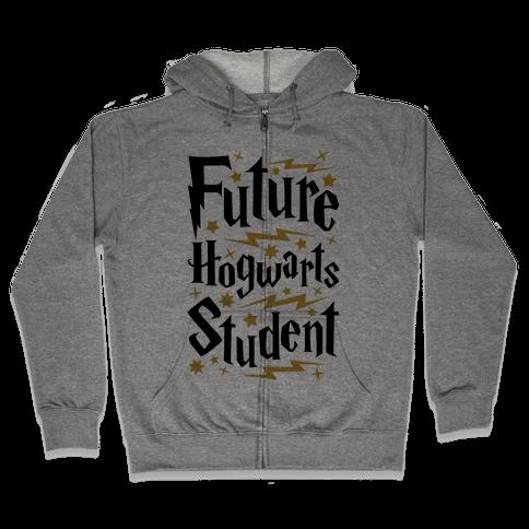 Future Hogwarts Student Zip Hoodie