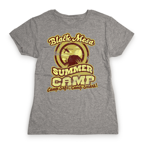 Mesa Summer Camp (distressed) Womens T-Shirt