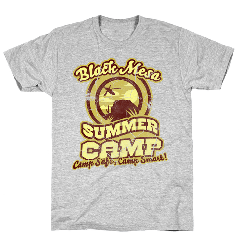 Mesa Summer Camp (distressed) Mens T-Shirt