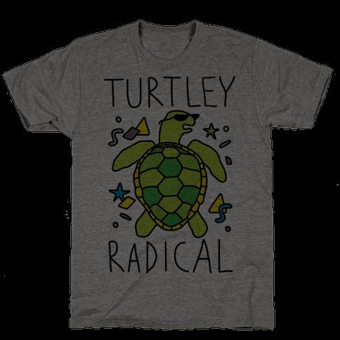 Turtley Radical Mens T-Shirt