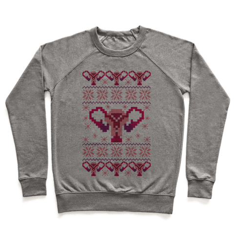 Uterus Sweater Pattern Pullover