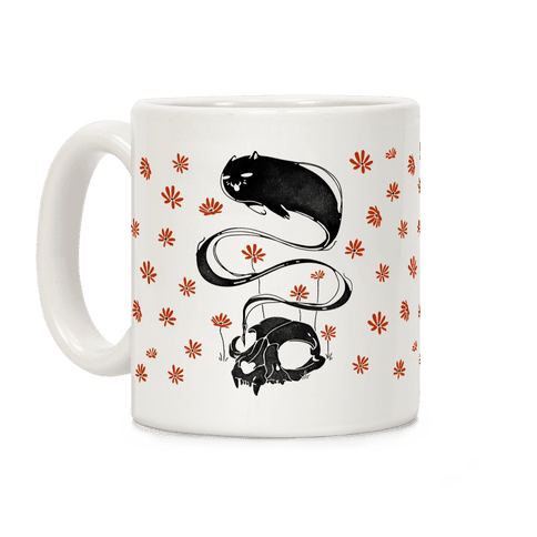 Cat Ghost Coffee Mug