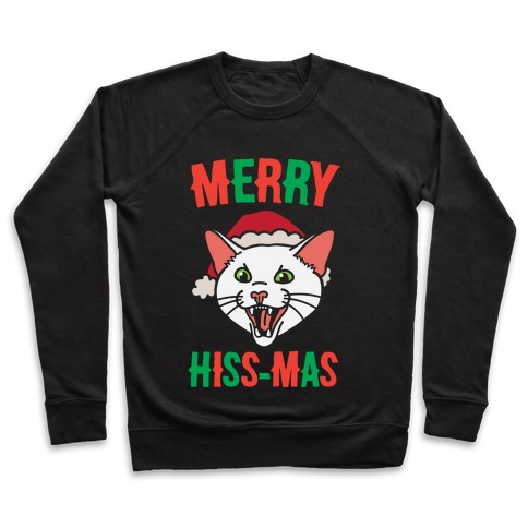 Merry Hiss-mas Pullover
