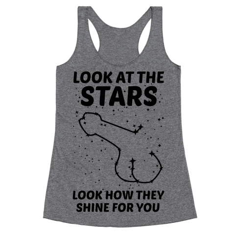 Penis Constellation Racerback Tank Top