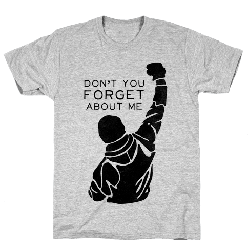 Don't Forget About Rocky (Tank) Mens T-Shirt
