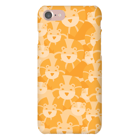 Lion and Lioness Pattern Phone Case