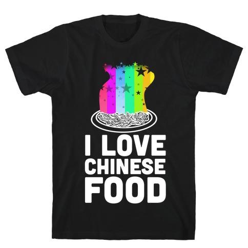 I Love Chinese Food T-Shirt