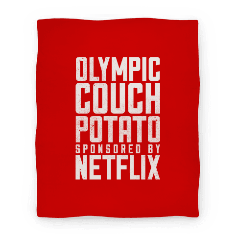 Olympic Couch Potato Blanket