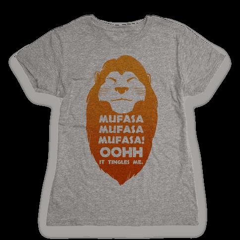Mufasa Mufasa Mufasa! (baseball tee) Womens T-Shirt