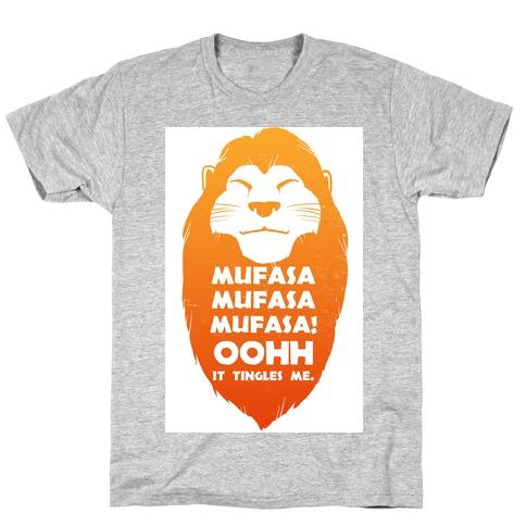 Mufasa Mufasa Mufasa! (baseball tee) T-Shirt