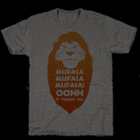 Mufasa Mufasa Mufasa! (baseball tee) Mens T-Shirt