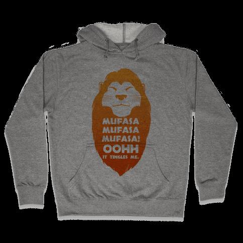 Mufasa Mufasa Mufasa! (baseball tee) Hooded Sweatshirt