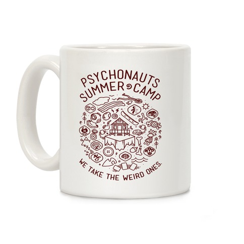 Psychonauts Summer Camp Coffee Mug