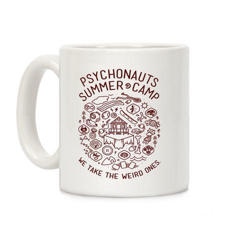 Psychonauts Summer Camp Coffee Mug