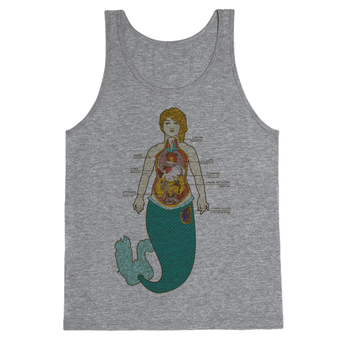 Mermaid Autopsy Tank Top