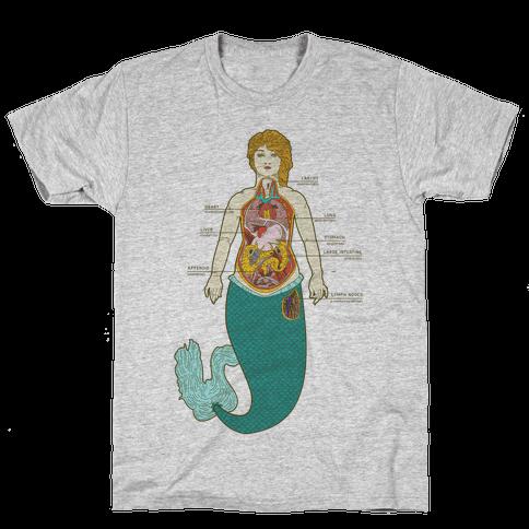 Mermaid Autopsy Mens T-Shirt
