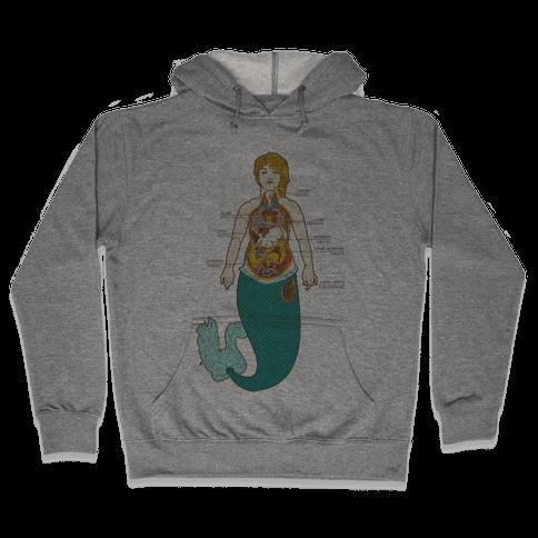 Mermaid Autopsy Hooded Sweatshirt