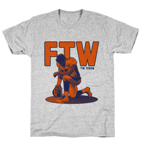 Tim Tebow For The Win! Mens T-Shirt