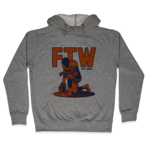 Tim Tebow For The Win! Hooded Sweatshirt