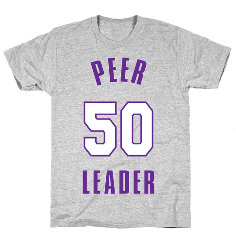 Peer Leader (50) Mens T-Shirt