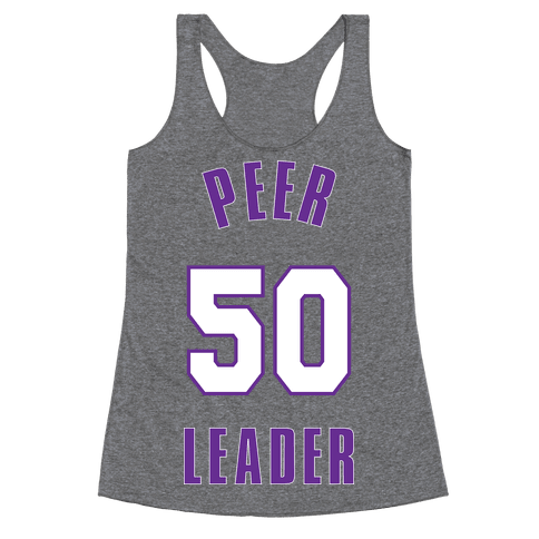 Peer Leader (50) Racerback Tank Top