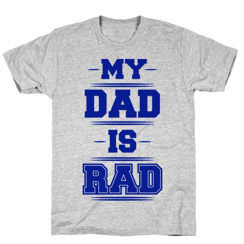 Rad Dad Mens T-Shirt