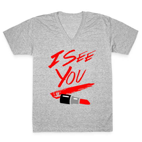 I See You V-Neck Tee Shirt