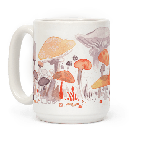 Mushroom Garden Pattern