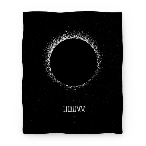 Total Eclipse Countdown Blanket
